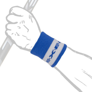 Schweißband BIG WRISTBAND SHORT blue, Exel