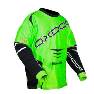 Torwart Dress OXDOG GATE GOALIE SHIRT grün/schwarz, Oxdog