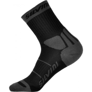 Socken Silvini Vallonga UA522 schwarz/grau, Silvini