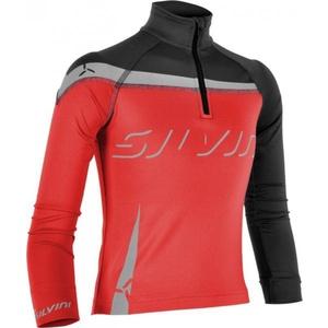 Kinder Thermo Sweatshirt Silvini Pizzi CJ514 red, Silvini