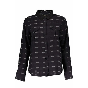 Hemden Lee Slouchy shirt Black, Lee