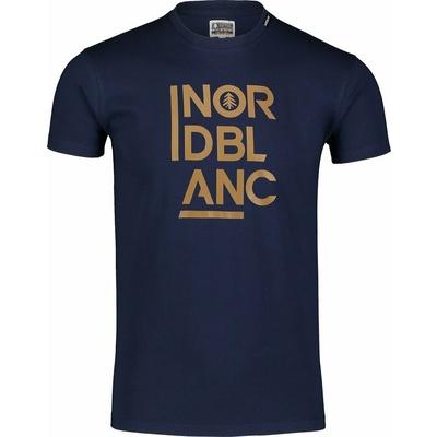 Hemd aus Baumwolle für Männer Nordblanc OBEDIENT Blau NBSMT7258_TEM, Nordblanc