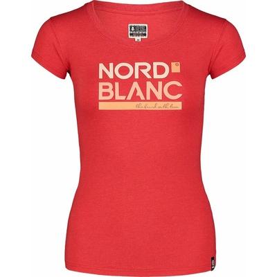 Damen-T-Shirt aus Baumwolle NORDBLANC Ynud schwarz NBSLT7387_TCV, Nordblanc