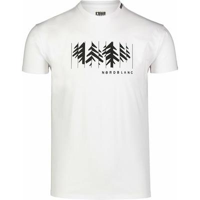 Hemd aus Baumwolle für Männer Nordblanc DEKONSTRUKTURIERT grau NBSMT7398_SSM, Nordblanc