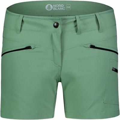 Leichtgewichtige Frauen outdoor-Shorts NORDBLANC Einfachheit NBSPL7418_PAZ