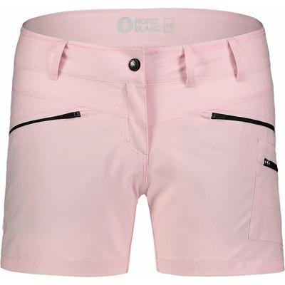 Leichtgewichtige Frauen outdoor-Shorts NORDBLANC Einfachheit NBSPL7418_RUT
