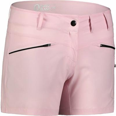 Leichtgewichtige Frauen outdoor-Shorts NORDBLANC Einfachheit NBSPL7418_RUT, Nordblanc