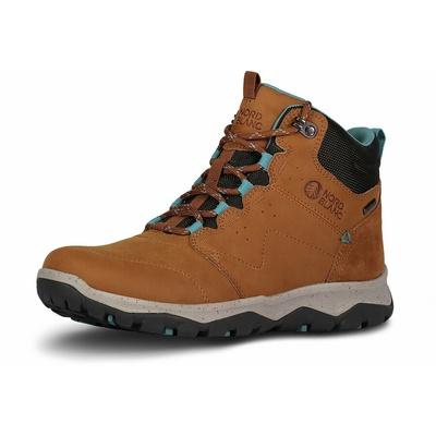 Leder für Frauen outdoor-Stiefel Nordblanc Prima dona NBSH7443_TAN, Nordblanc