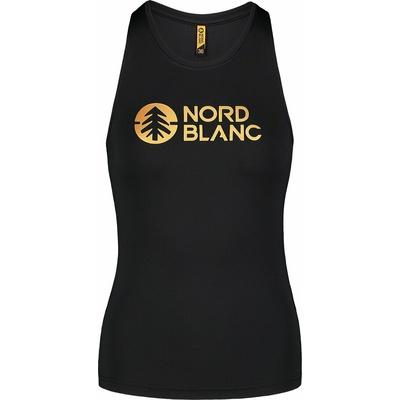 Frauenfitness oben Nordblanc Balsam Schwarz NBSLF7446_CRN