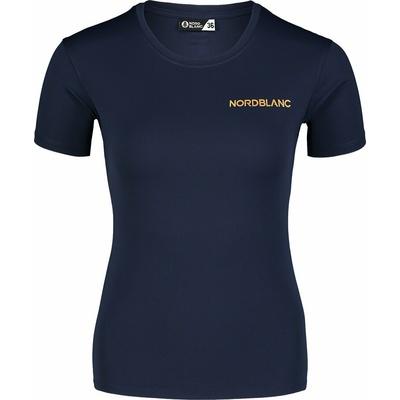 Frauen funktional t-shirt Nordblanc Ausbildung blau NBSLF7450_NMM, Nordblanc
