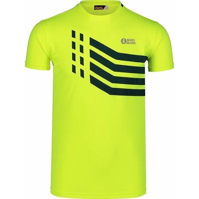 Herren T-Shirt Nordblanc Stärker Gelb NBSMF7457_BPZ, Nordblanc