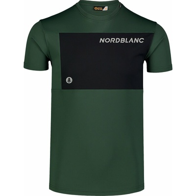 Fitness-T-Shirt für Herren Nordblanc Größer werden schwarz NBSMF7460_TZE, Nordblanc