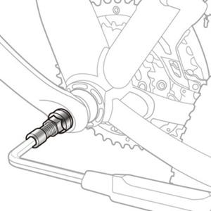 Puller klik Topeak Universal Kurbel Puller TPS-SP19, Topeak