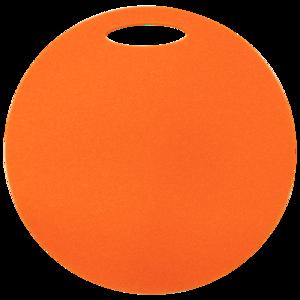Schemel Yate rund 1 schicht Durchmesser 350 mm Orange, Yate