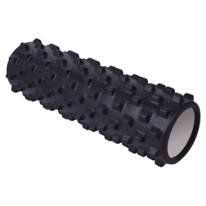 Massage- Rolle Yate 45 x15 cm black, Yate