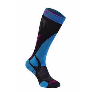 Socken Bridgedale Ski Lightweight Women's black/blue/007