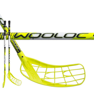 Floorball Stock WOOLOC FORCE 3.2 yellow 75 ROUND NB, Wooloc