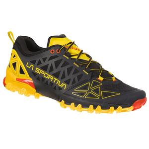Schuhe La Sportiva Bushido II schwarz/gelb, La Sportiva