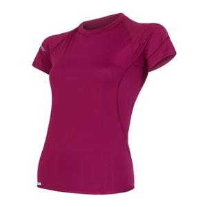 Damen T-Shirt Sensor Coolmax Fresh Lilla 15100052, Sensor