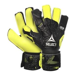 Torwart Handschuhe Select GK handschuhe 03 Youth Flat schneiden schwarz yellow, Select