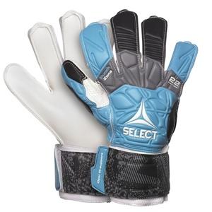 Torwart Handschuhe Select GK handschuhe 22 Flexi Grip Flat schneiden blau black, Select