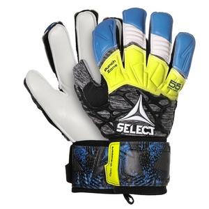 Torwart Handschuhe Select GK handschuhe 55 Extra Force Flat schneiden blau grey