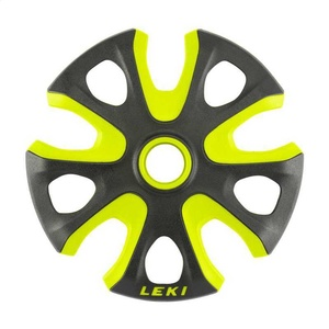Teller LEKI Big Mountain Basket 2K 95mm black-neon yellow 853100112, Leki