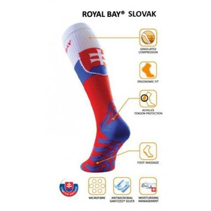 Kompression Kniestrümpfe ROYAL BAY® Classic SLOVAK Edition, ROYAL BAY®