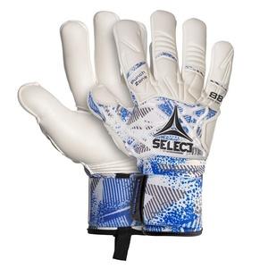 Torwart Handschuhe Select GK handschuhe 88 Pro Grip Negative schneiden weiß blue