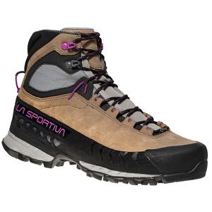 Damen Schuhe La Sportiva TX5 GTX Women Stone taupe / lila, La Sportiva