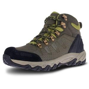 Herren Leder Outdoor Schuhe NORDBLANC Rugged NBHC87 KHI, Nordblanc
