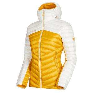 Damen Jacke Mammut Breit Peak IN Hooded Jacket Women golden bright white 1247, Mammut