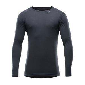 Herren Wolle T-Shirt Devold Hiking Man Hemd black GO 245 220 A 950A