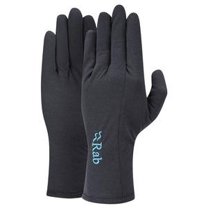 Handschuhe Rab Forge 160 Handschuh Women's ebenholz / eb, Rab