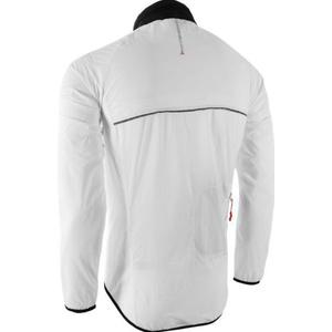 Herren ultra Light Jacke Silvini GELA MJ801 weiß-schwarz, Silvini