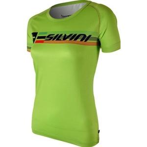 Damen T-Shirt Silvini PROMO WT854 Lime, Silvini