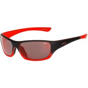 Kinder Sonnen- Brille RELAX Mona schwarz Orange R3066B, Relax
