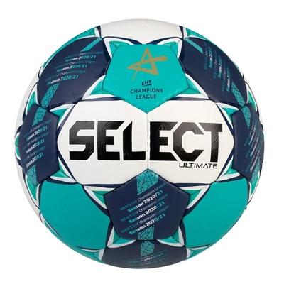 Handball Ball Select HB Ultimate CL Men weiß green, Select