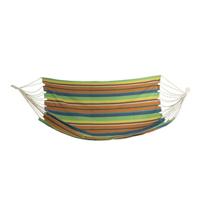 Schaukel Netz Spokey DOUBLE breit streifen Mix Farben, Spokey