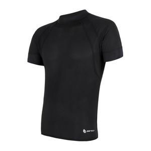 Herren T-Shirt Sensor Coolmax Fresh Air black 16100079, Sensor