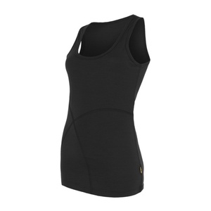 Damen Tank Top Sensor Merino Wool Active black 16100009, Sensor