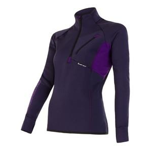 Damen Sweatshirt Sensor Tecnostretch violet 15200046, Sensor