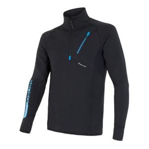 Herren Sweatshirt Sensor Tecnostretch black 15200041, Sensor