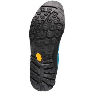 Schuhe La Sportiva Boulder X Mid GTX blau / gelb, La Sportiva