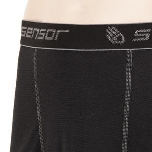 Herren Boxershorts Sensor Double Face black 16200050, Sensor