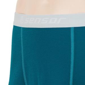 Herren Boxershorts Sensor Double Face saphir 16200051, Sensor