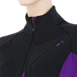 Damen Sweatshirt Sensor Tecnostretch black violet 15200044, Sensor