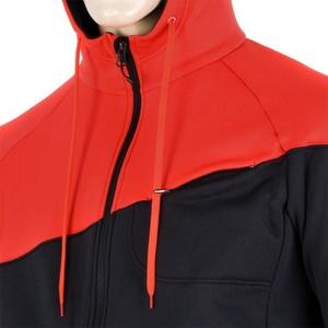 Herren Sweatshirt Sensor Tecnostretch black red 16200130, Sensor