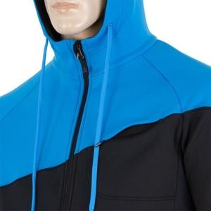 Herren Sweatshirt Sensor Tecnostretch black blue 16200131, Sensor