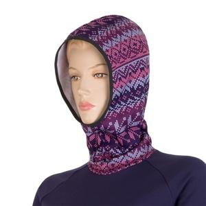 Damen Sweatshirt Sensor Tecnostretch Muster mit Kapuze violet 16200133, Sensor